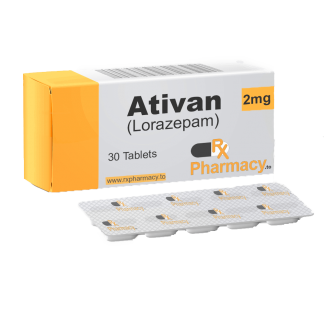Buy Ativan 1mg lorazepam pills online for sale in cheap discounted prices from rx online pharmacy