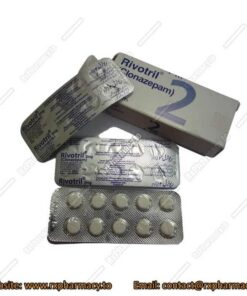 Buy Rivotril 2mg Clonazepam pills online for sale without prescription no rx required